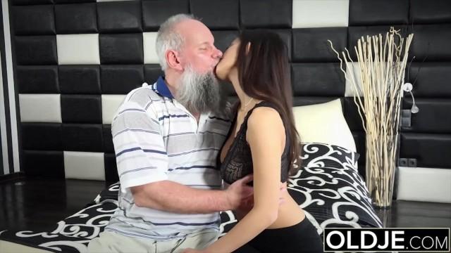 Gran fucks dad - Step dad fucked me hard i got cum in my mouth i am such a slut