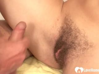 Huge dick blowjob slutload sexy brunette girl loves to get fucked hard lovehomeporn petite amateur