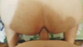 pregnant wife gentle pegging big ass hubby by huge strapon dildo  wife strapon amateur wife pegging big ass ass training sissy husband pegging strapon femdom