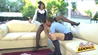 Mary nanny licked pussy eating big
