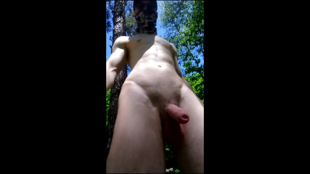 Czech gays Teen guy goes naked in public and meets some people