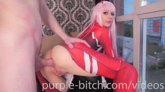 Zero two cosplay porn