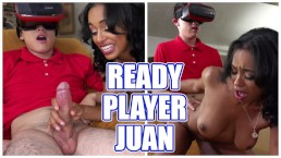 BANGBROS - Ready Player Juan El Caballo Loco Has Cybersex With Anya Ivy