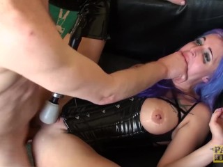 Massage fuck xxx goth subslut alexxa vice ass roughly dicked while using toys, pascalssubsluts bdsm british uk rough sex