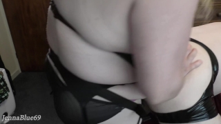 Husband Plugged and Butt Fucked by Sexy BBW Wife - Femdom Anal Pegging  ass fuck pegging his ass male butt plug femdom strapon pegging strapon femdom anal chubby ass training wife strapon anal gape bbw strapon butt fuck amature anal reverse cowgirl pov strapon anal