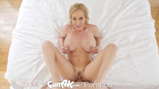 CUM4K Best Creampie fuck with Brandi Love Amateur tits