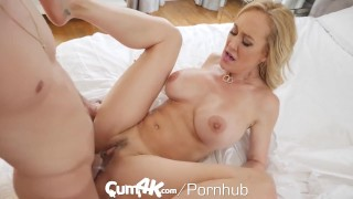 CUM4K Best Creampie fuck with Brandi Love Mom busty