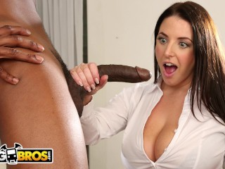 Snapchat Pictures Leaked Sex Bangbros - Busty Angela White Takes Anal From Isiah Maxwell, Babe Big