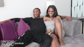BLACK TEEN LOVE. Hot College Couple Have Amazing Sex. 18 YO GIRL Babe big