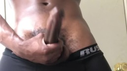 AFTER GYM FAT TEEN DICK YANKING (PART 1)