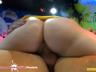 Preview 5 of Cum Addicted Teen in Extreme Bukkake