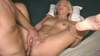 Nervous Blonde Takes It In The Ass For The First Time