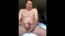 Hotel Bed Masturbation To Orgasm
