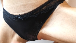 And sex she panties said in work to need i cum my before going fast petite real