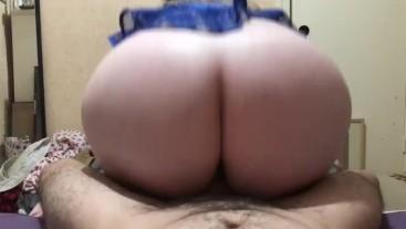 Big ass tight wet pussy fucks big dick