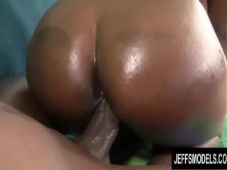 Busty Ebony Plumper Marie Leone Is Fucked Doggie Style by a Big Black Cock