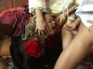 Polish big boobs medieval groupsex with double penetrations nastybeaver anal gape gaping