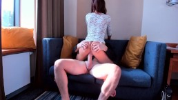 AMATEUR TEEN SLUT RIDE ON MY BIG COCK SO FAST
