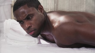 NoirMale FULL SCENE Sexy Fucking Massage 4 Hunk Black Daddy Dick cock