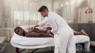 NoirMale FULL SCENE Sexy Fucking Massage 4 Hunk Black Daddy