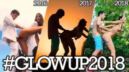 3 années de baise à travers le monde - compilation #Glowup2018
