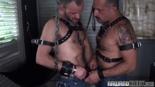 Hairy silver wolf barebacking tight ass