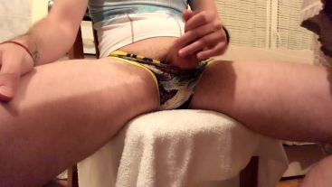 So horny day - Jerking off