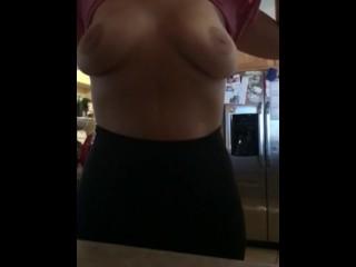 Milf slow motion tits real big tits