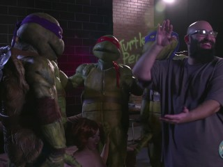 Behind The Scenes of Ten Inch Mutant Ninja Turtles!