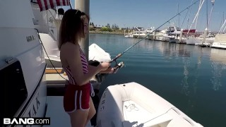 Bisex & barely legal teen Rosalyn Sphinx fucked on a boat  tattooed women point of view blowjob bangrealteens small tits toys hardcore petite drilled shaved eye contact rpsalyn sphinx readhead fishing bang bang real teens boat