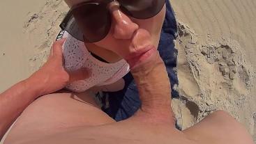 beach hard fuck