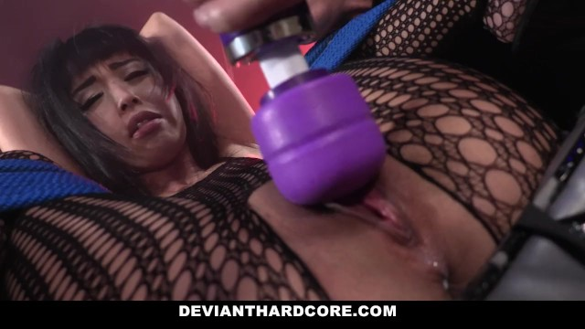 DeviantHardcore – Horny Asian Gets Tight Pussy Whipping