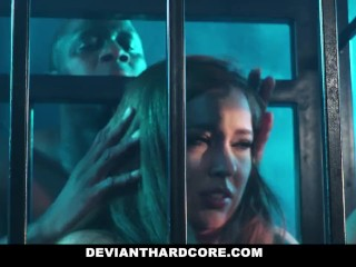 Preview 4 of DeviantHardcore - Interracial Anal Slut Gets Dominated