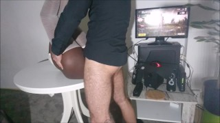 PUBG Gamer Girl suddenly fucked anal by Pizza delivery boy