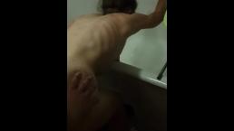 My schoolmate use my sexwife