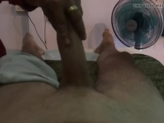Hung Guy gets Thai Massage-9 She Did it.MOV