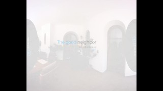 VirtualRealGay.com - The good neighbor Straight cock