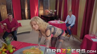 Preview 3 of Brazzers- Bonnie Rotten The Cumback - Tattooed pornstar gets dped
