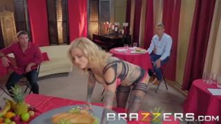 Brazzers- Bonnie Rotten The Cumback - Tattooed pornstar gets dped Big ass