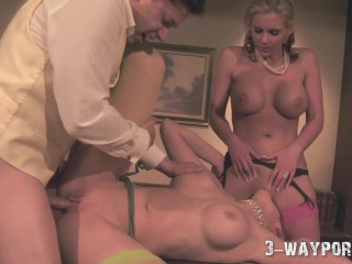 Charmane Dildo Star Video Wmv Fucking, Old Time Cosplay Threesome with 2 Hot Blondes Babe Big Tits B