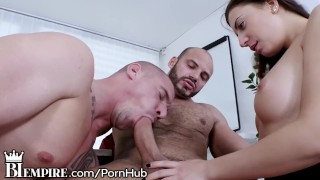 Hot BiSexual Daddies Ass Fuck as Babe Sucks Big Dick!  ass fuck mmf threesome bi empire bisexual male big cock bi sexual biempire blowjob bisexual bi bisex 3some threesome anal bi sex bisexual anal