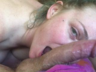 Sloppy Deep Throat Prostate Massage Rimjob Cumshot Swallow POV