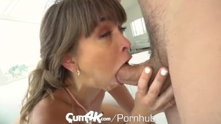 CUM4K Multiple OOZING creampies with Riley Reid Up in