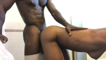 Young ebony Milf in plow session with BBC
