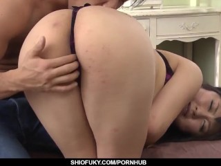 Kyoka Mizusawa gets the strong dick to drill - More at Pissjp.com