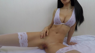 Hot girl in bride lingerie fucks herself until orgasm - Mini Diva Standing voice