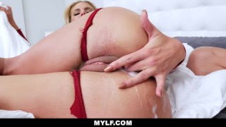 MYLF-Horny Housewife Phoenix Marie Fucked By Big Cock Thief Stepdaughter pov