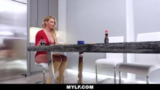 MYLF-Horny Housewife Phoenix Marie Fucked By Big Cock Thief Big young