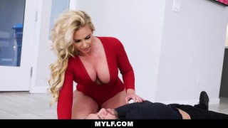 MYLF-Horny Housewife Phoenix Marie Fucked By Big Cock Thief Thongs boobs