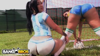BANGBROS - Sexy Latina Pornstars With Big Asses Play Soccer And Get Fucked Milf mompov